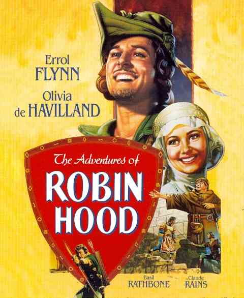 ADVENTURES OF ROBIN HOOD BY FLYNN,ERROL (Blu-Ray) -